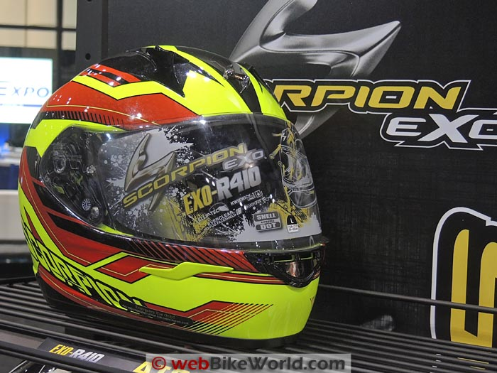 Scorpion EXO-R410 Yellow Red