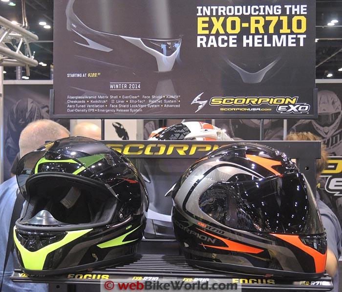 Scorpion EXO-R710 Helmets