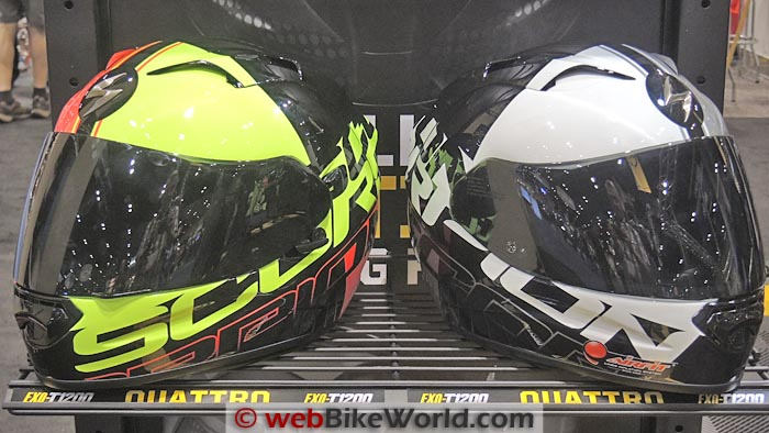 Scorpion EXO-R1200 Quattro Helmets