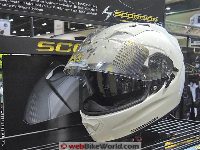 Scorpion EXO-T1200 White