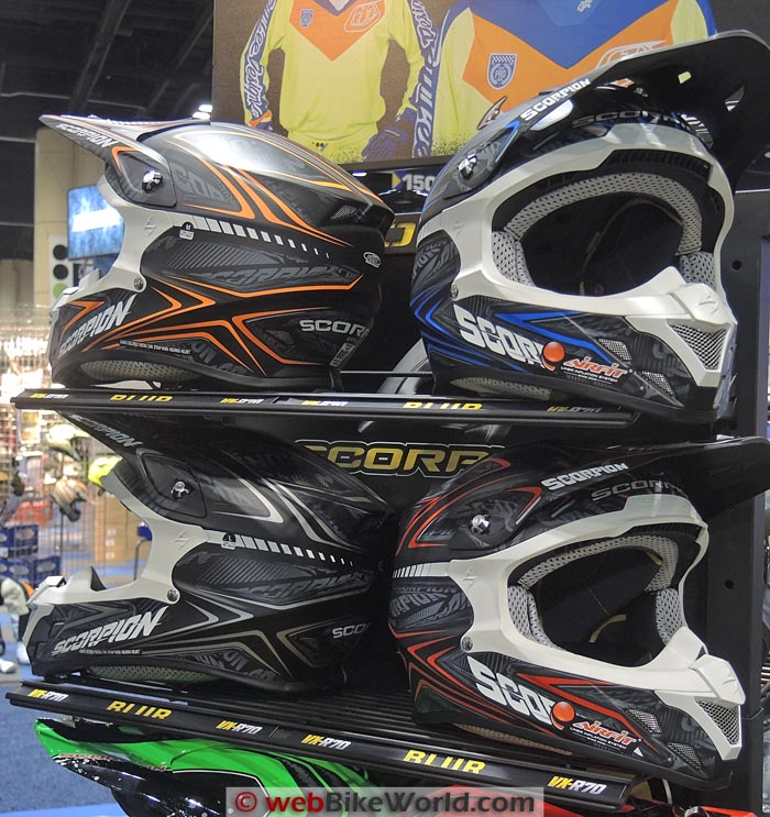 Scorpion VX-R70 Helmets