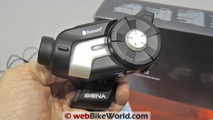 Sena 10C Close-up