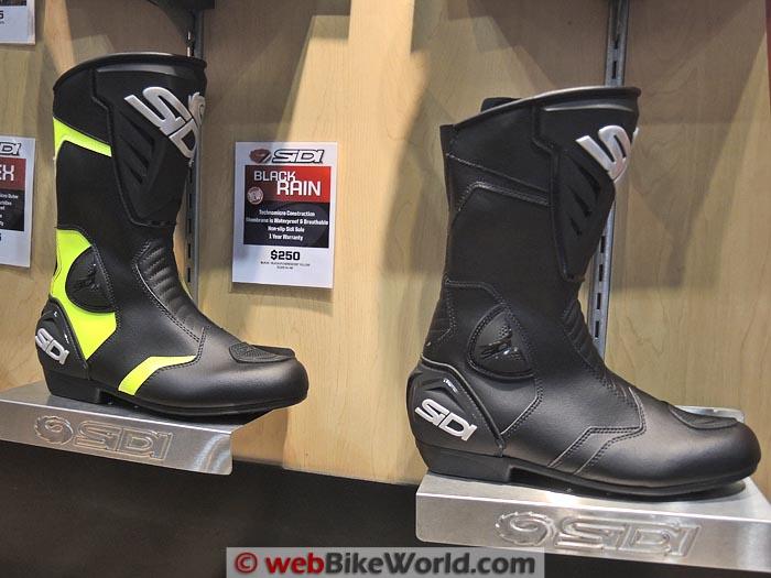 Sidi Black Rain Boots