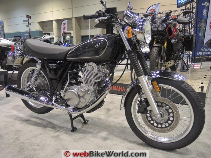 Yamaha SR400 Right Side