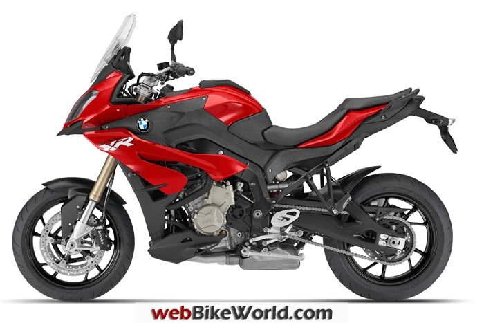 BMW S1000XR Red Left