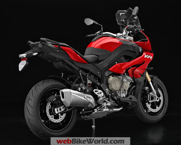 BMW S1000XR Red Right Rear