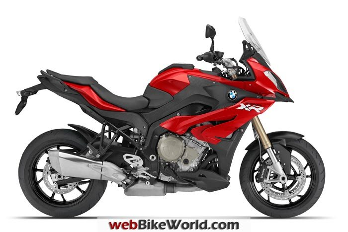 BMW S1000XR Red Right Side
