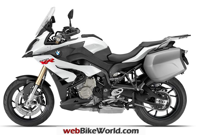 BMW S1000XR White Left