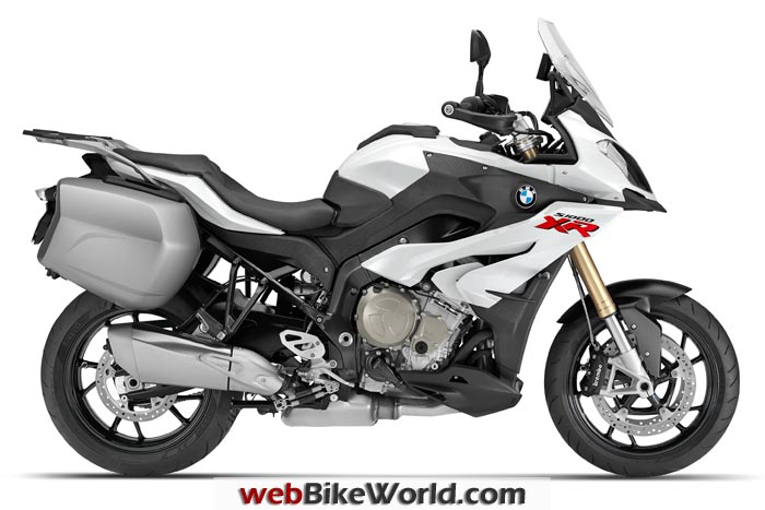 BMW S1000XR White Right Side
