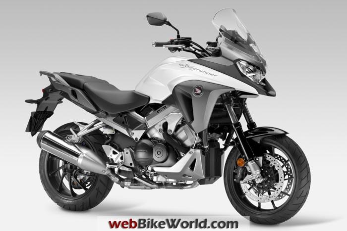 Honda Crossrunner 800 White
