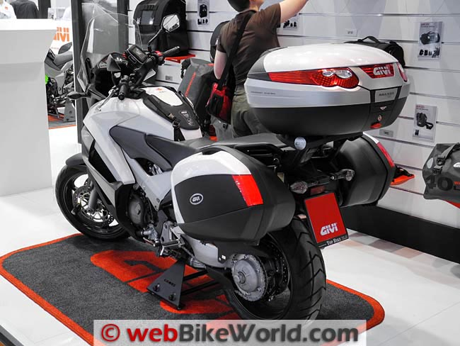 Honda Crossrunner With Givi Luggage