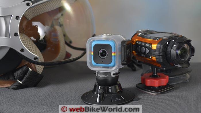 Polaroid Cube vs. Ricoh WG-M1
