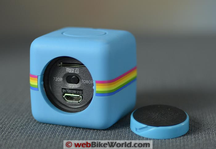 Polaroid Cube With Cover Removed