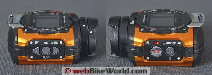 Ricoh WG-M1 Action Camera Buttons