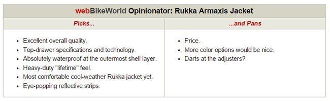 Rukka Aramaxis Jacket Opinionator