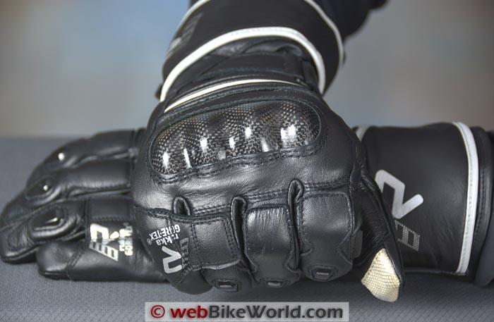 Rukka Imatra Gloves Main Knuckle Protector