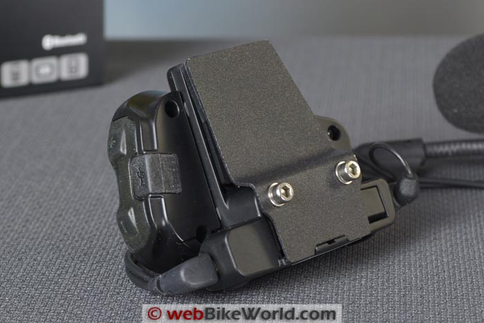 Cardo Qz Intercom Helmet Mount