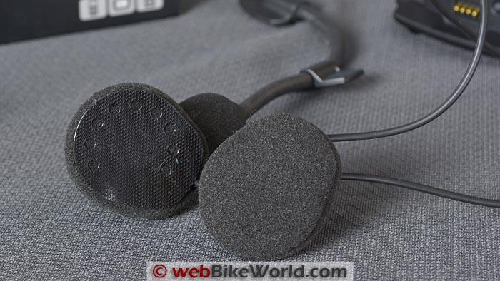 Cardo Qz Intercom Speakers