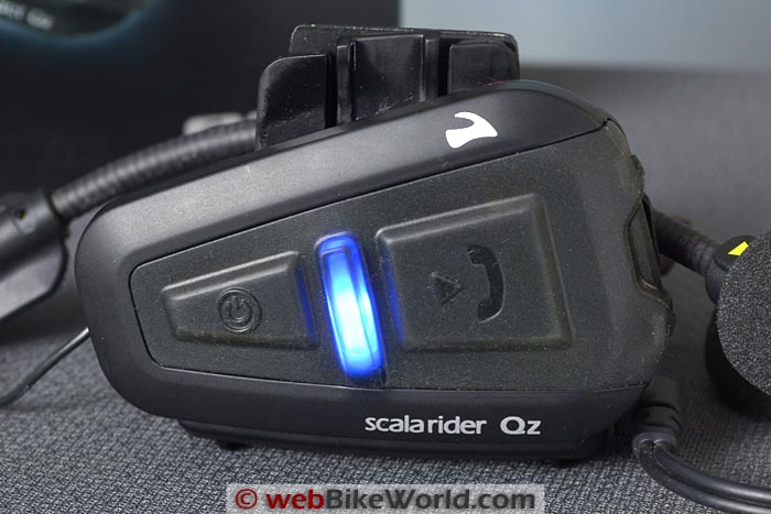 Cardo Scala Rider Qz Intercom Close-up