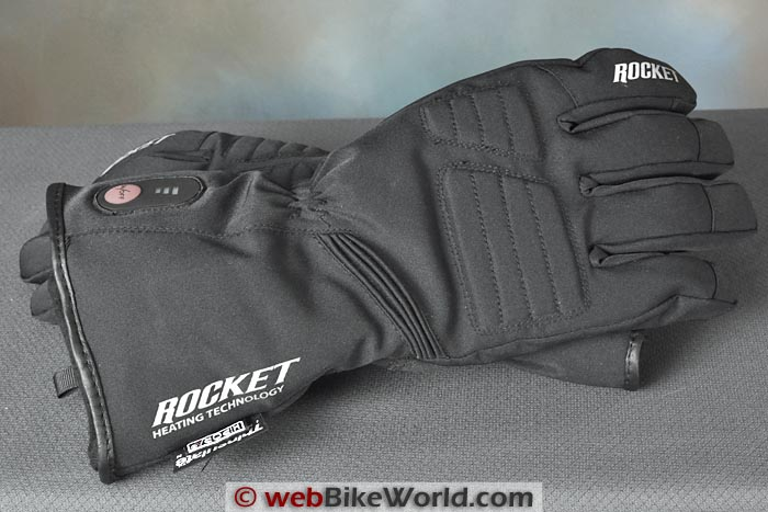 Joe Rocket Rocket Burner Gloves Gauntlet