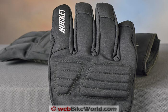 Joe Rocket Rocket Burner Gloves Knuckle Protector