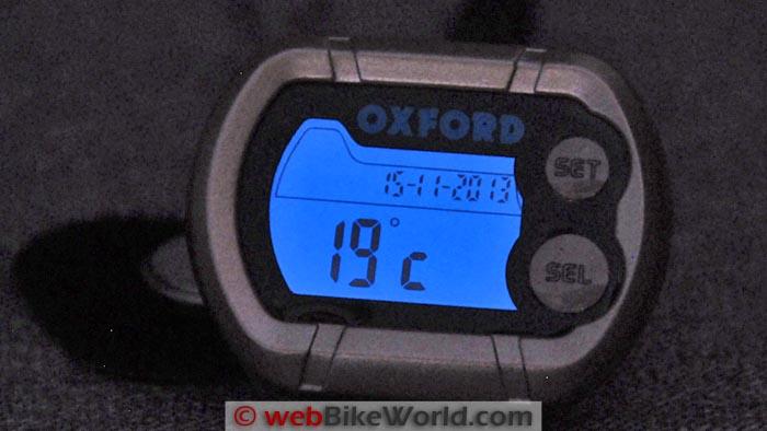Oxford Micro Clock Backlighting