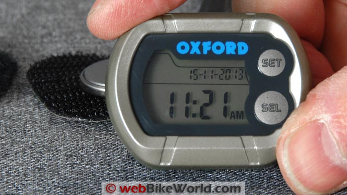 Oxford Micro Clock Face Close-up