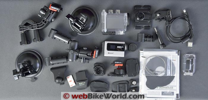 Sena Prism Action Camera Accessories