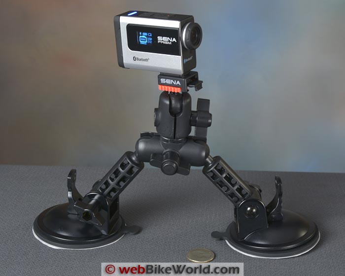 Sena Prism Dual Suction Cup Mount