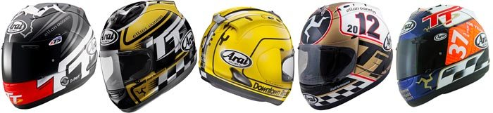 Arai Corsair V Limited Edition Helmets