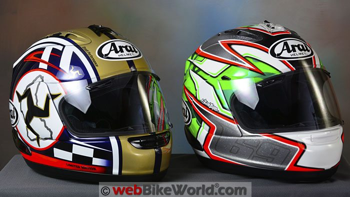 Arai Corsair V Nicky 5 and Isle of Man TT Limited Edition Helmets