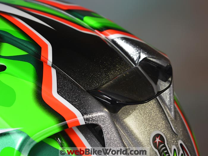 Arai Corsair V Nicky 5 Rear Vent