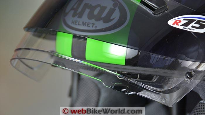 Arai SAI Max-Vision Pinlock Face Shield