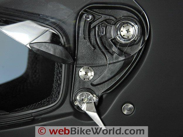 2010 Bell Star Helmet - Face Shield Removal Mechanism