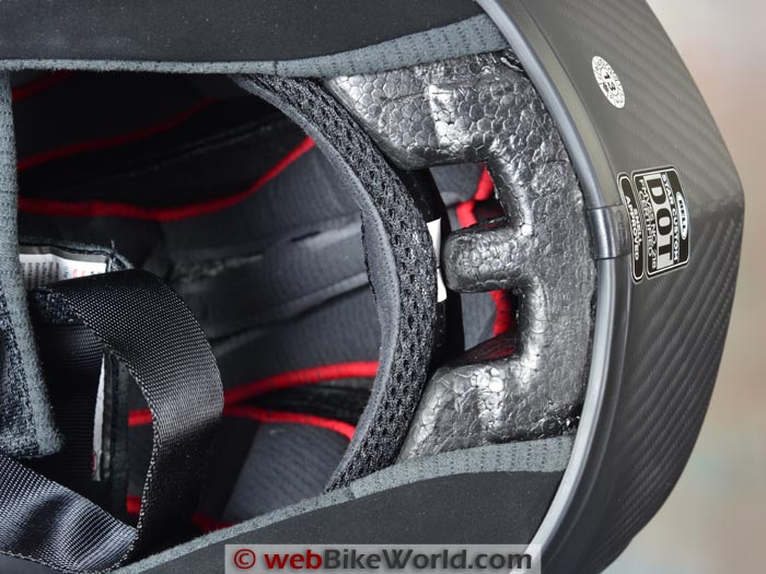 Bell Star Custom Fit Helmet Liner Close-up