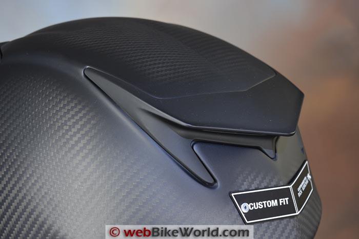 Bell Star Custom Fit Helmet Rear Vent
