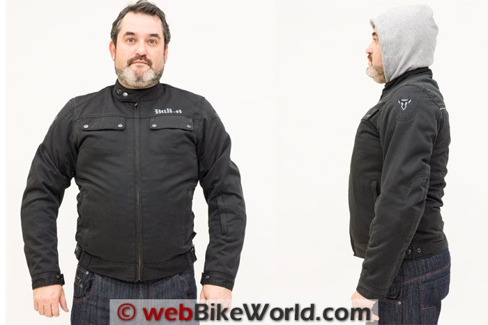 Bull-it Carbon Jacket Two Views