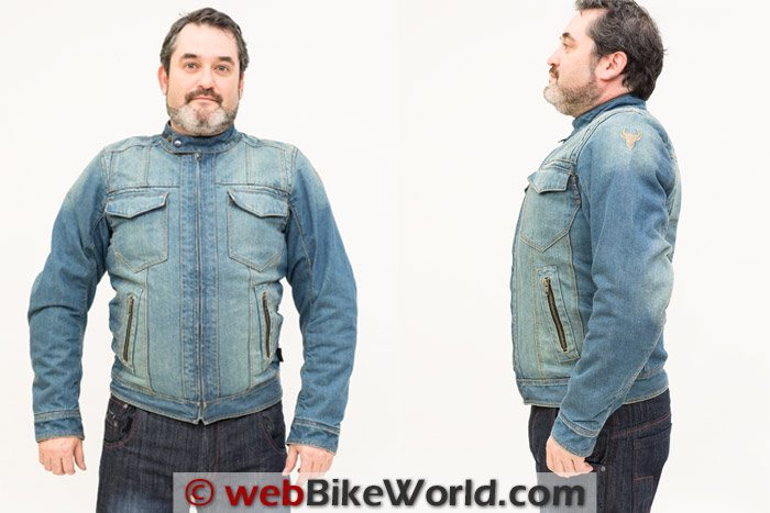 Bull-it Roadster Jacket Two Views