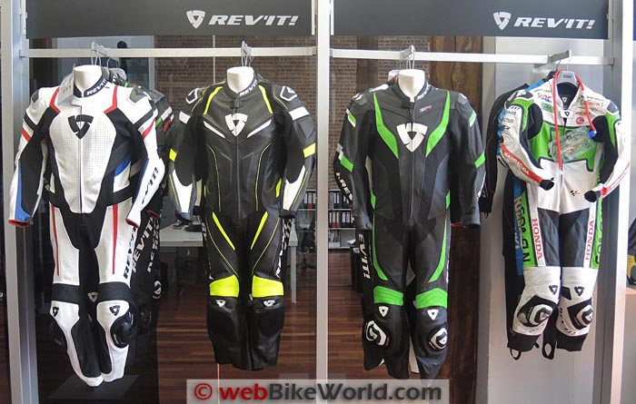 REV'IT! 2015 Leather Race Suits