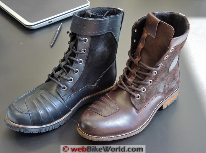 REV'IT! Royale and Regent Brown Boots