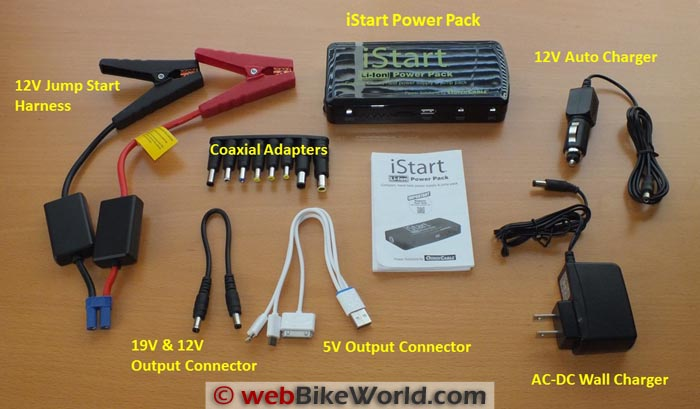 Quick Cable iStart Kit Contents