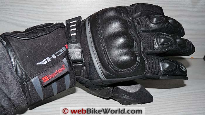 Richa Arctic Gloves Wrist Strap