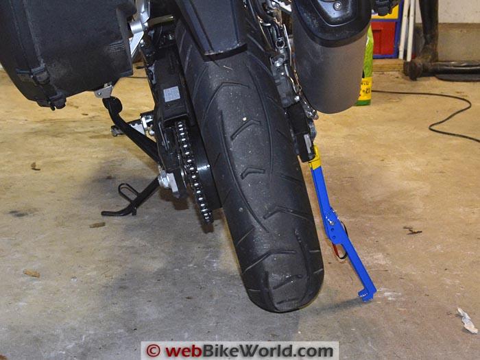 Snapjack Bike Lift From Rear