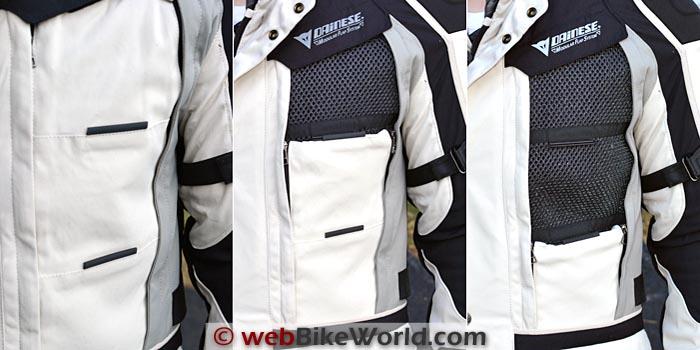 Dainese D-Explorer Jacket Front Vent
