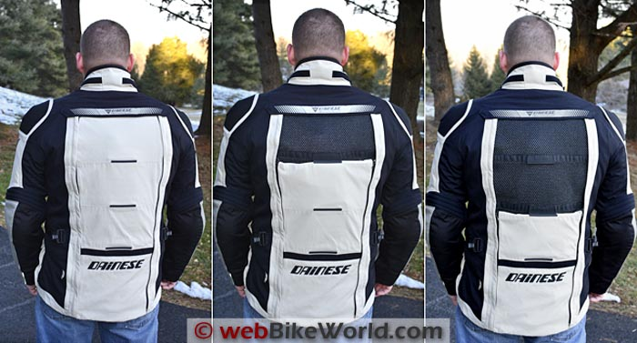 Dainese D-Explorer Jacket Rear Vent