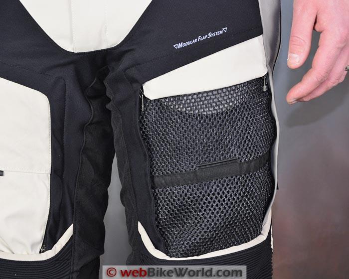 Dainese D-Explorer Pants Leg Vent