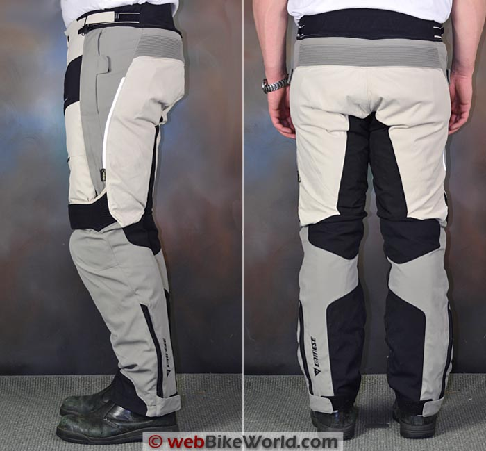 Dainese D-Explorer Pants Side Rear Views