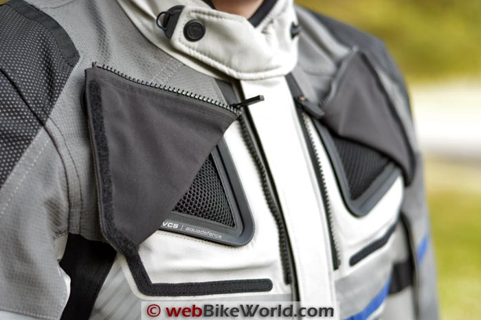 REV'IT! Dominator GTX Jacket Chest Vents
