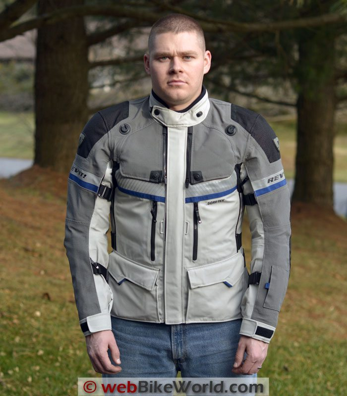 REV'IT! Dominator GTX Jacket Front View
