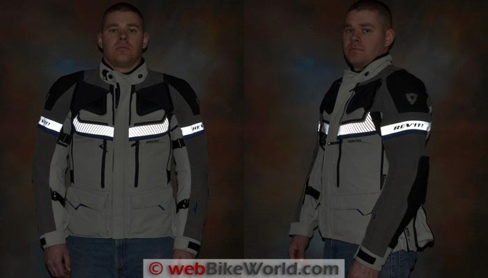 REV'IT! Dominator GTX Jacket Reflectivity Front